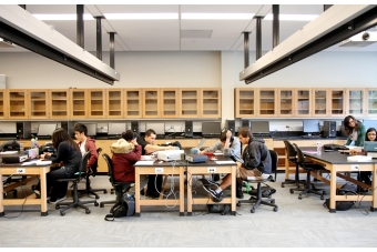 Students Staff Show Off New Labs At Foothill College
