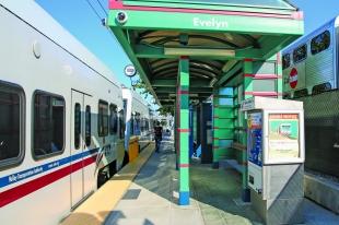Elegant VTA Board Votes To Close Evelyn Light Rail Station
