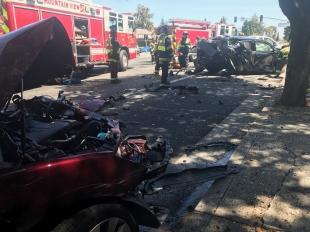 El Camino Real Car Accident