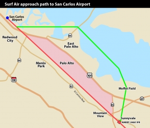 Faa Meeting Wednesday On Surf Air Route Over Bay