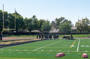 Community divided over high school stadium lights   News