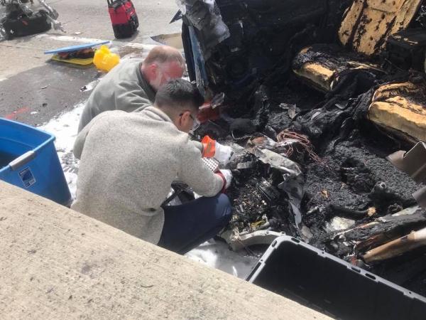 NTSB investigating fiery Tesla crash that killed driver ...