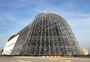 An epic undertaking to restore Hangar One | News | Mountain View Online |