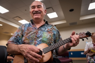 Ukulele lessons, no strings attached at Mountain View